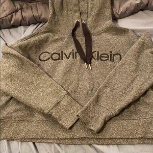 Calvin Klein Cropped Sweatshirt